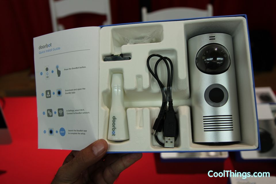 Slated ... & DoorBot Wireless Doorbell Streams Audio And Video pezcame.com