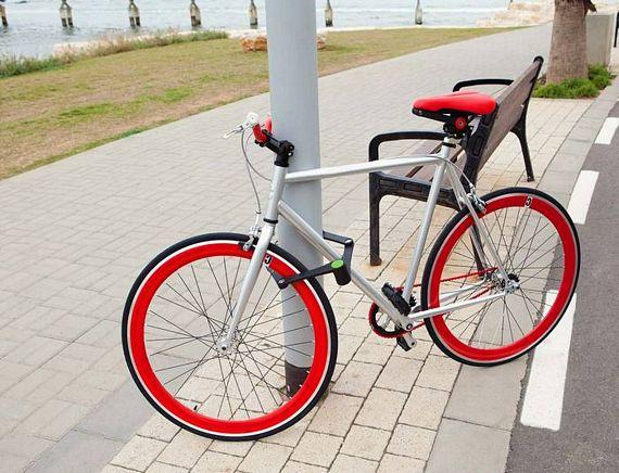 Foldylock Folding Bike Lock Is A Smart And Practical Design