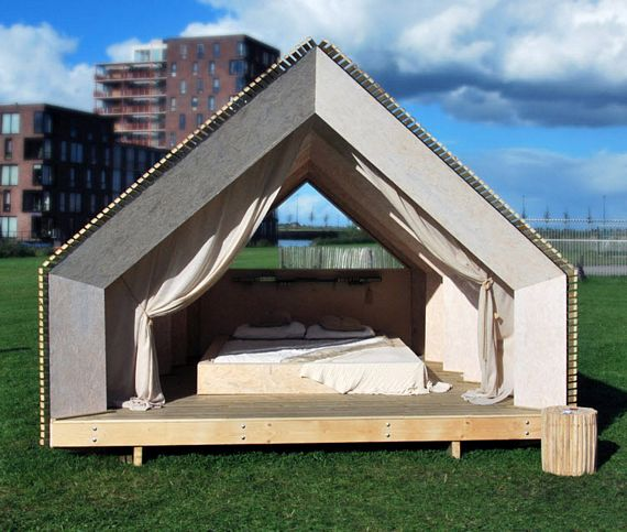 Hermit Houses Are Flat-Packed, DIY Homes