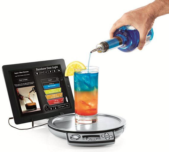Brookstone perfect drink smart bartender for Perfect drink smart scale