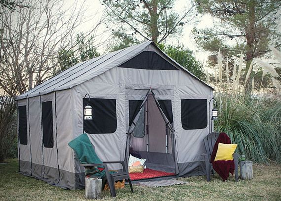 Safari Tent Lets You Camp With Complete Freedom Of Movement