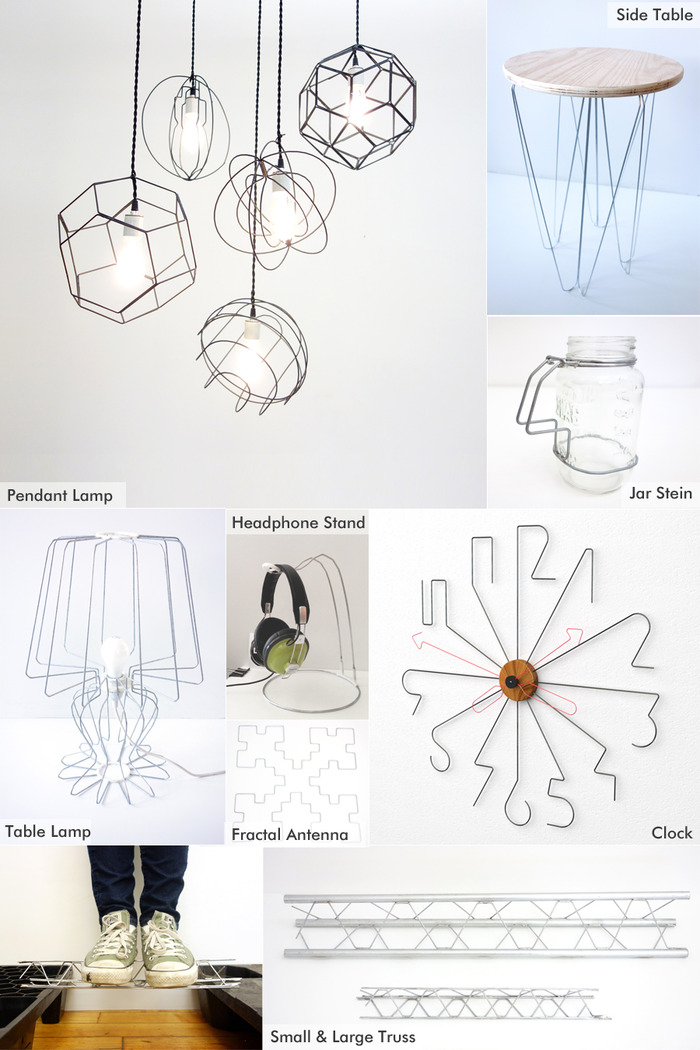DIWire Bender Turns Steel Wires Into 3D Shapes And Sculptures ...