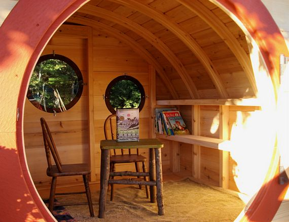 Hobbit Hole Playhouse Brings Middle Earth Smials Into Your