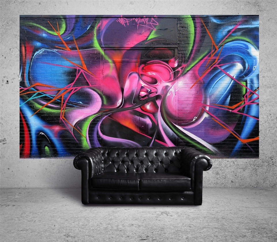 Suumo brings authentic street art into your home for Mural graffiti