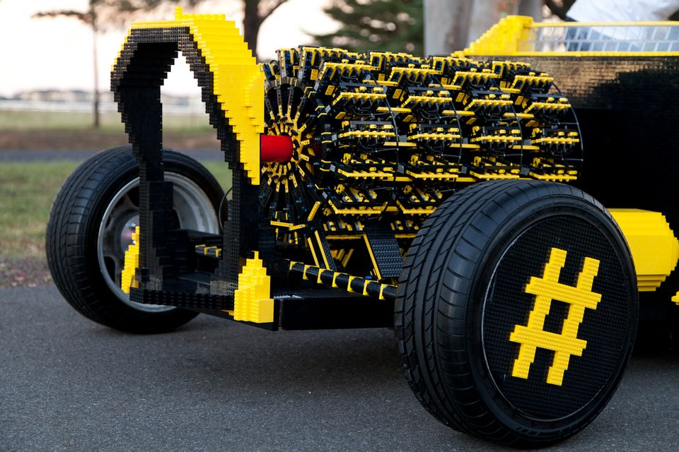 Lego Life Size Car - Cool cars in real life
