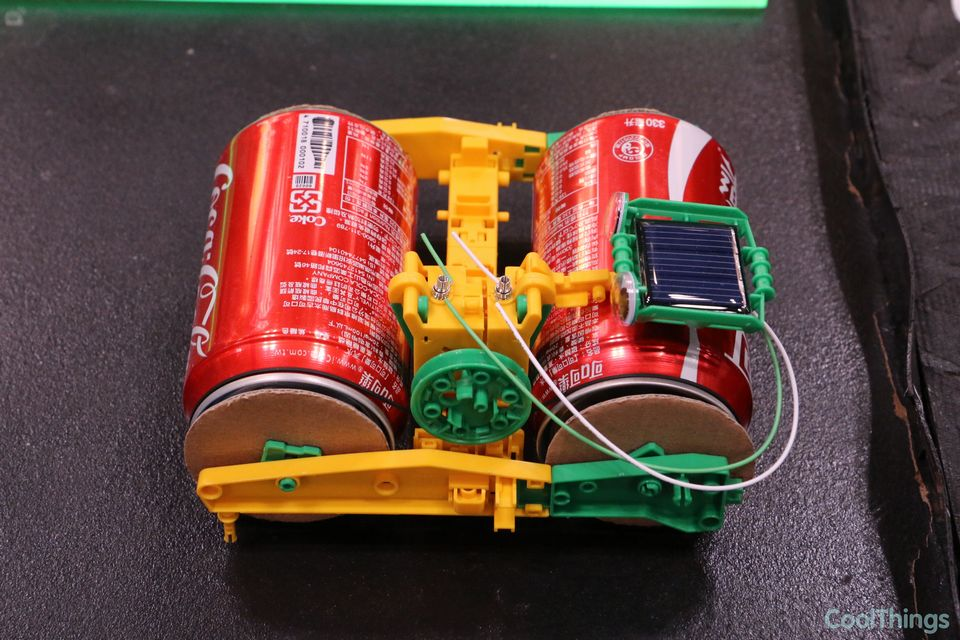 Cool Toys To Make : Super solar recycler science kit