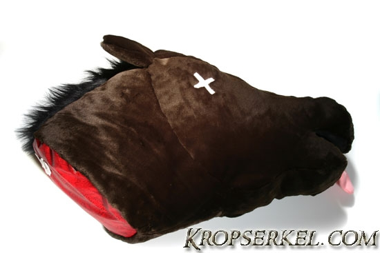 severed horse head pillow like in the godfather but cuddlier - Horses Head Pillow