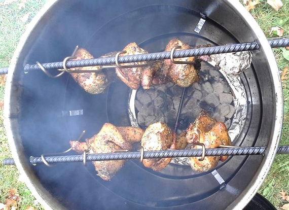 Pit Barrel Cooker Smokes And Grills Your Food Unattended