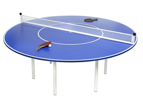 The Ping Meets Pong Table Measures 200 Cm In Diameter And 75 Cm Tall, Which  The Product Page Claims Is Enough To Accommodate Up To 12 People During A  ...