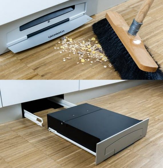 The Gronbach Furniture Vacuum Cleaner Is Housed In A Compact Box That Looks  Like A Flat PC Chassis Of Sorts, Enabling It To Fit Under Most Household ...