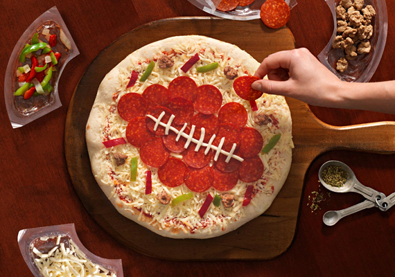 DiGiorno Design A Pizza Kit Lets You Arrange Your Own Toppings