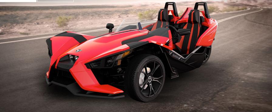 Polaris Slingshot: This Exotic-Looking Three-Wheeled