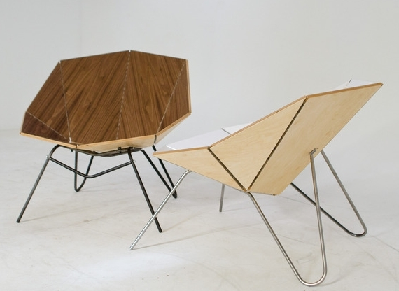 Cut Amp Fold Origami Chair Most Stylish Folding Chair Ever