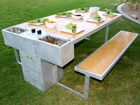 Available Now, The Grazing Grill Retails For $2,199.