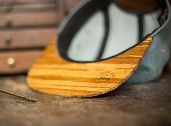 Bamboo visors make guapa peaks 39 hats unlike any other for Making bamboo things