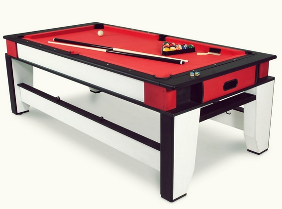 Charming The Rotating Air Hockey And Billiards Table ...