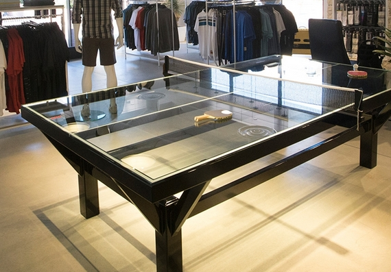 the glass top ping pong table - Ping Pong Tables For Sale