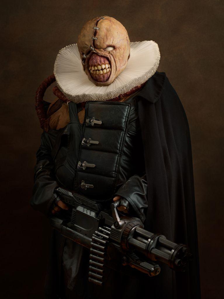 Máscara Resident evil 3 nemesis mask! How to make DIY cosplay Elven King DIY