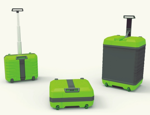 FUGU Can Expand From Small Suitcase To Huge Luggage