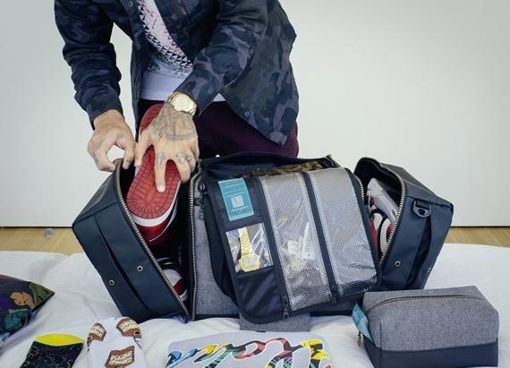 Shrine Sneaker Duffel Is A Travel Bag For Sneakerheads