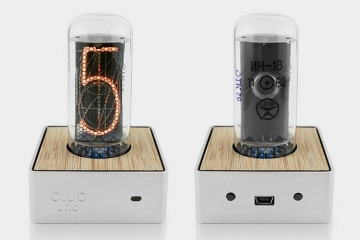 A Nixie Time Display Makes The Blub Uno Retro Geeky Desk Clock You Never Knew Wanted