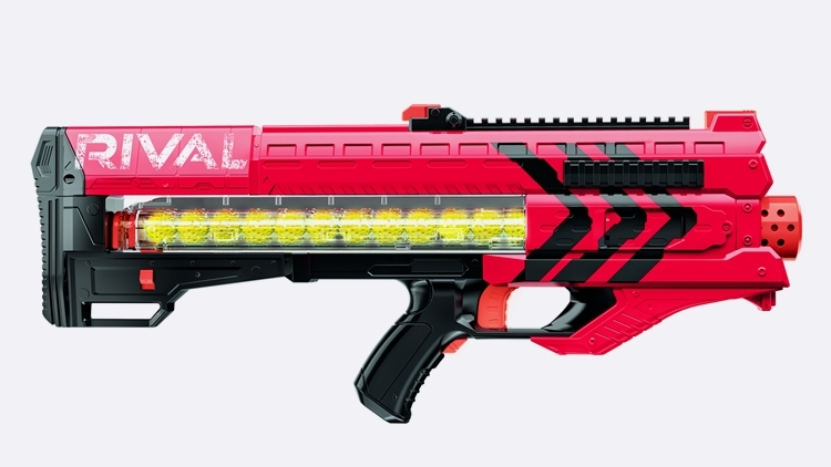 The initial Nerf Rival line will offer two blasters: the Zeus MXV-1200 and  the more compact Apollo XV-700. The former can hold 12 projectiles at a  time via ...