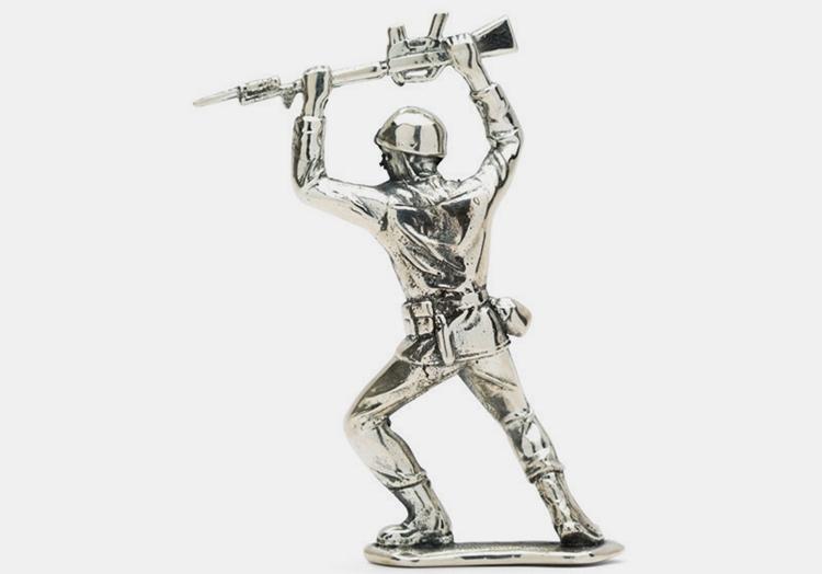 Cool Toy Army Men : Silver army men