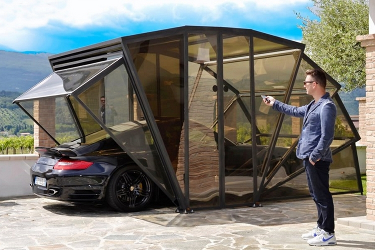 Use GazeBox To Add An Enclosed Carport In Your Driveway & GazeBox