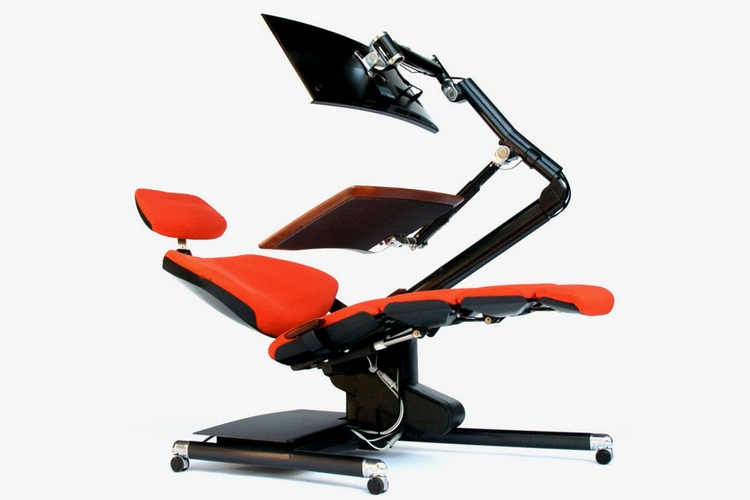 Nice Altwork Convertible Workstation Lets You Work Sitting, Standing, And Lying  Down