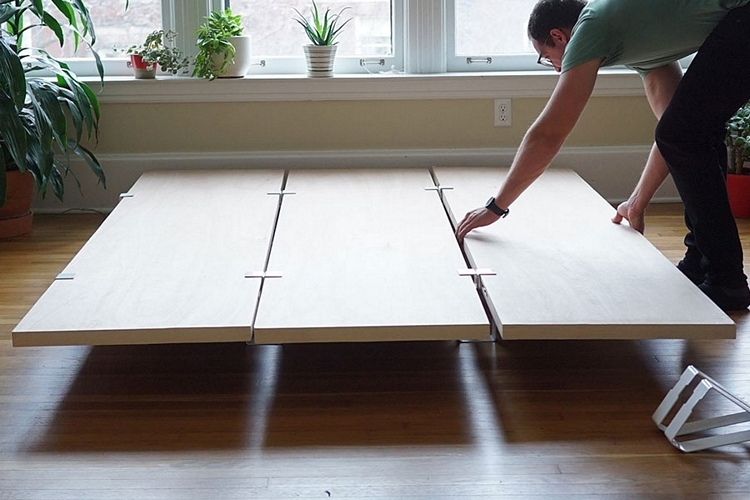 Plywood Platform Bed Diy