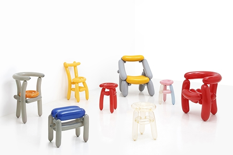 High Quality Every Chair In The Blowing Series Is Made Using Inflatable Balloons
