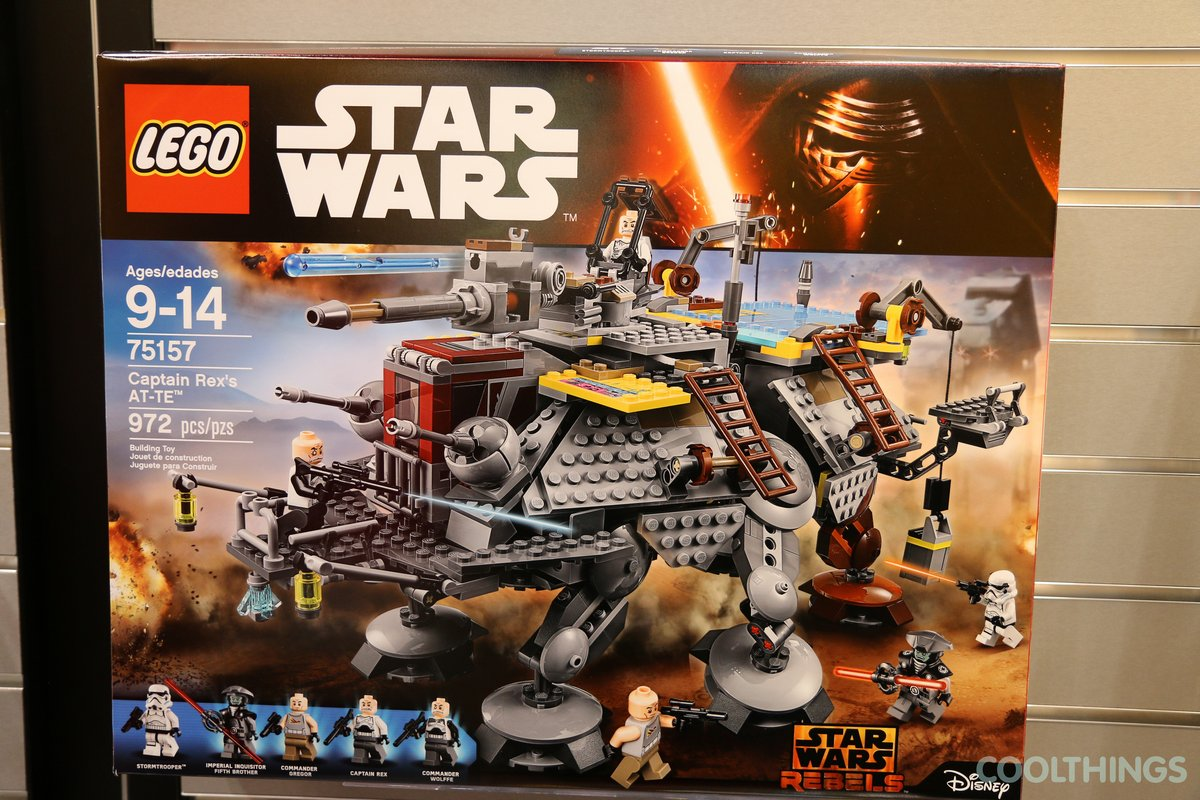 LEGO Star Wars Set 75157 Captain Rex\'s AT-TE