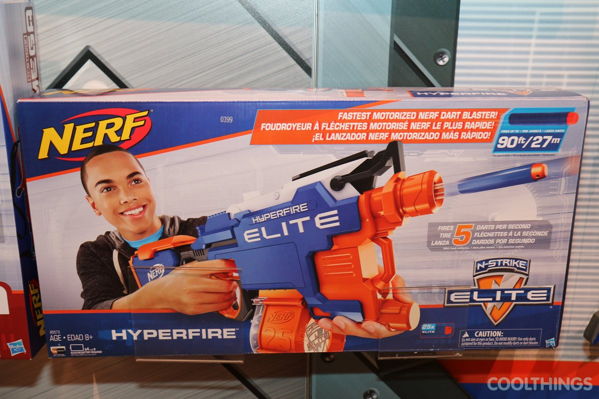 Nerf N-Strike Hyper-Fire Elite
