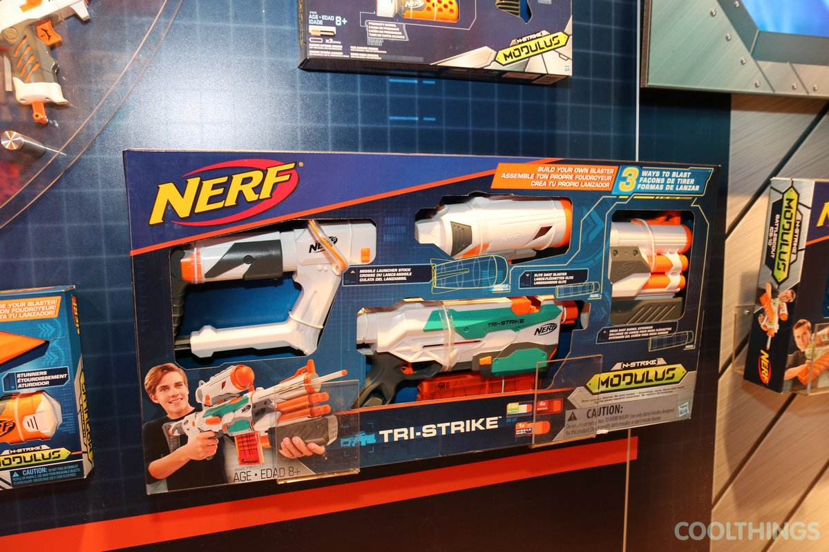 ... Nerf N-Strike Modulus Tri-Strike