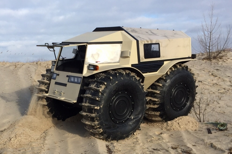 Sherp may be the first atv that s truly worthy of being a