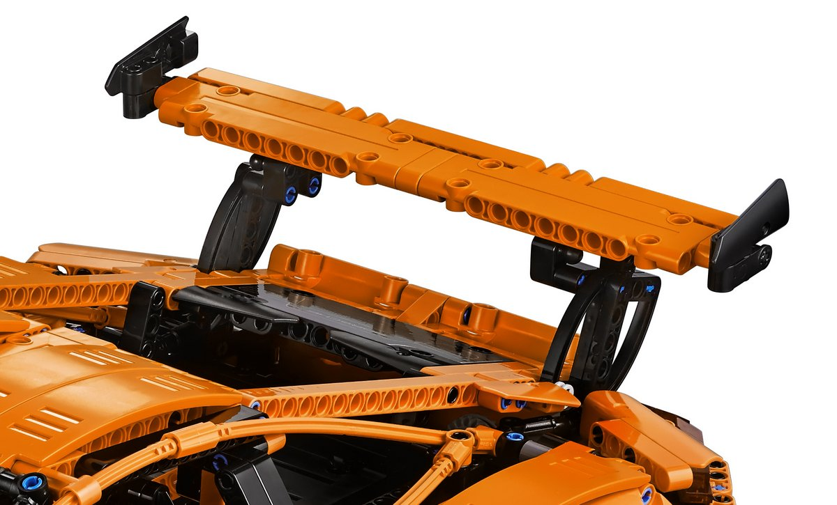 Rear Spoiler - LEGO Technic Set 42056 Porsche 911 GT3 RS