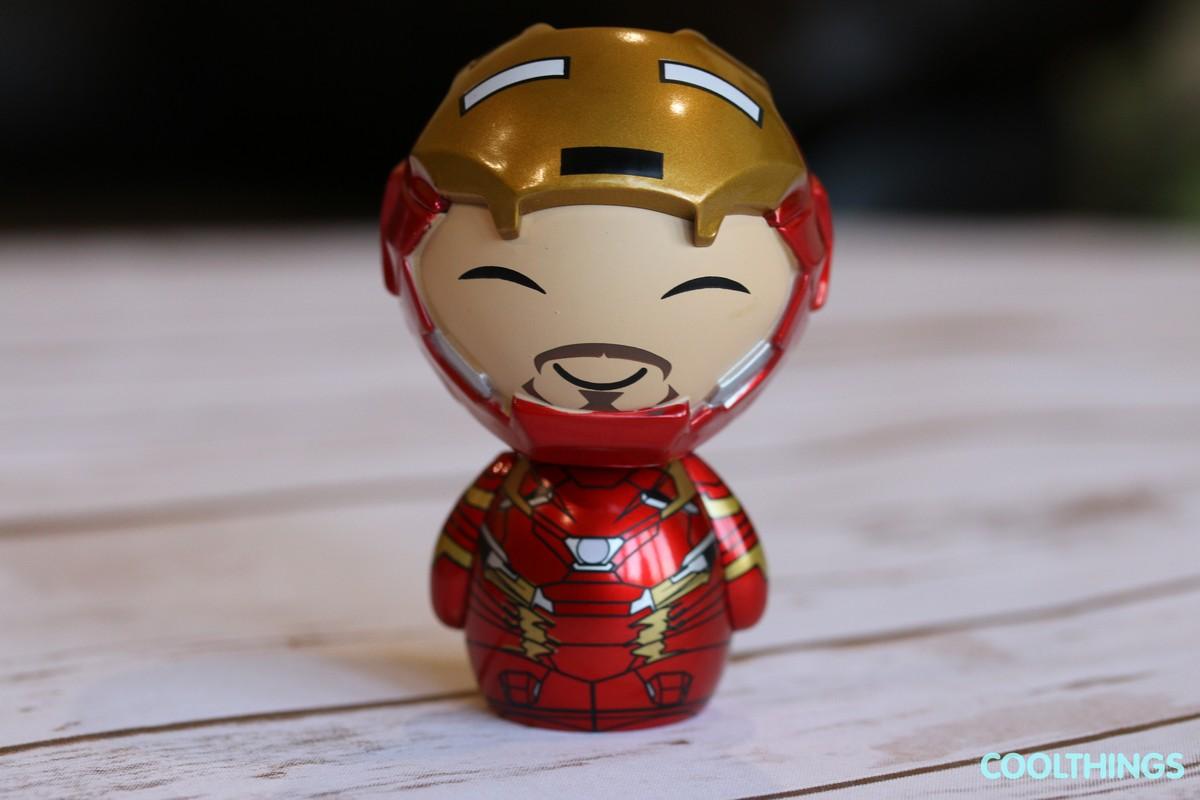 Marvel Civil War Iron Man Dorbz Vinyl Figure