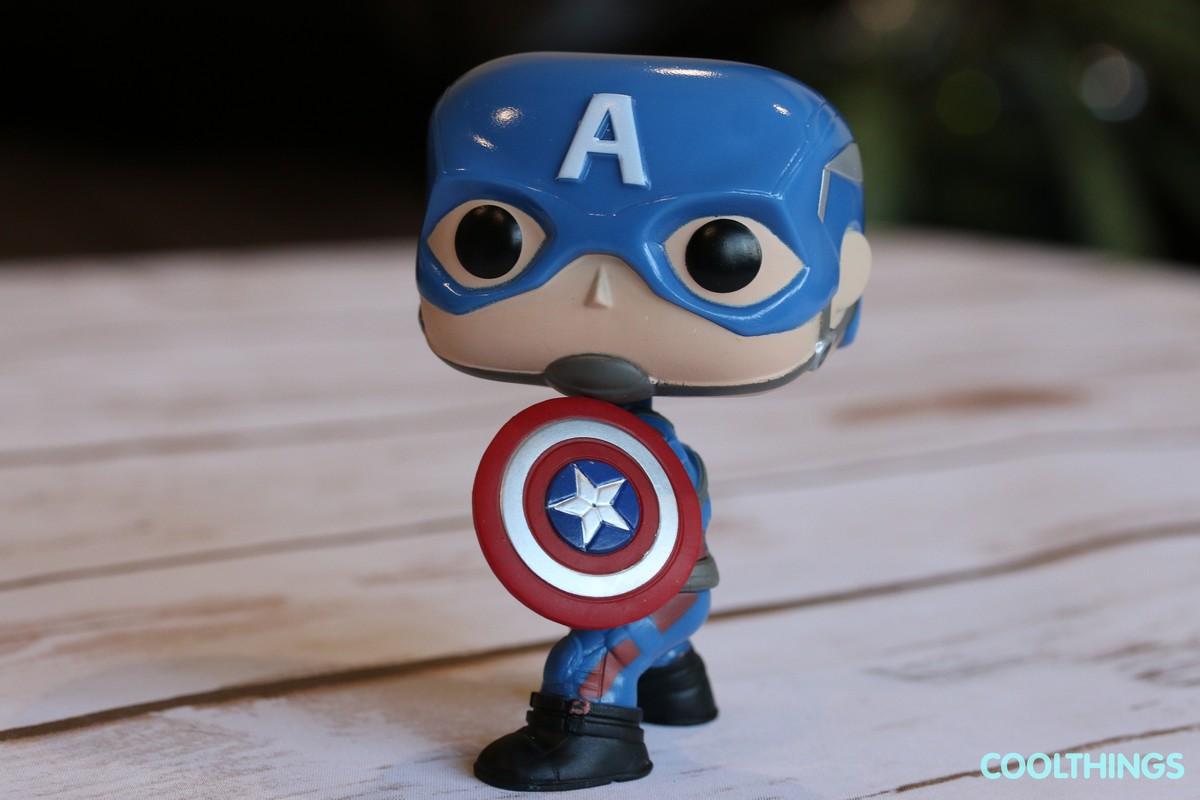 Marvel Civil War Captain America Funko Pop Vinyl Figure