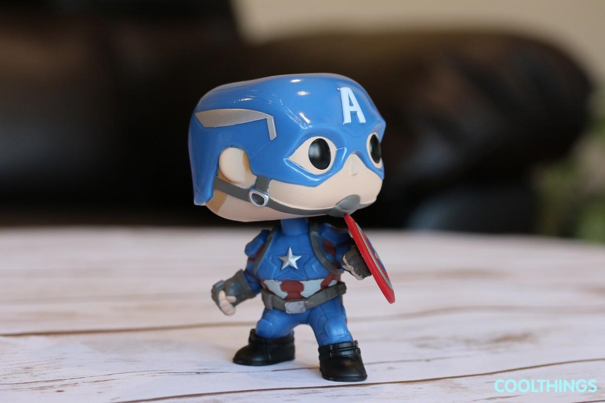 Marvel Civil War Captain America Funko Pop Figure