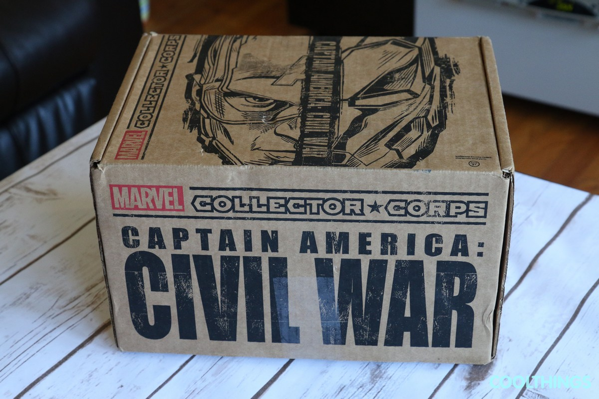Marvel Collector Corps Civil War April 2016 Unboxing