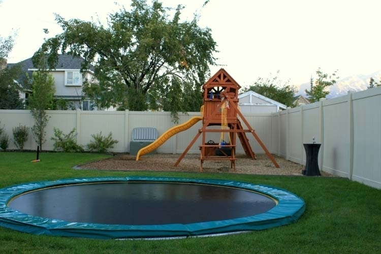 tdu in ground trampoline. Black Bedroom Furniture Sets. Home Design Ideas
