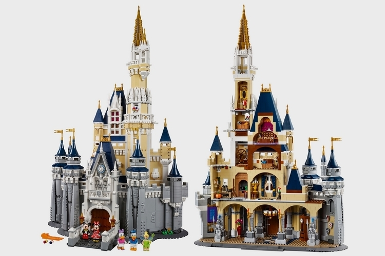 LEGO-disney-castle-1
