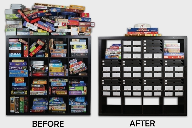 Bitbox Board Game Storage System on furniture shop
