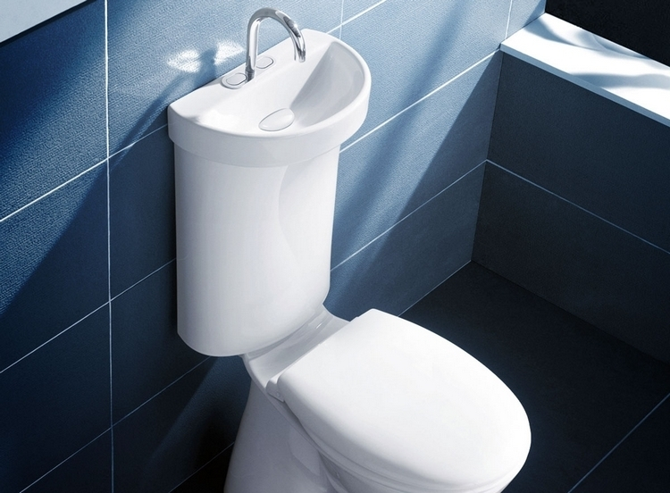 Caroma Profile Smart Puts A Sink On Toilet To Save Water Really
