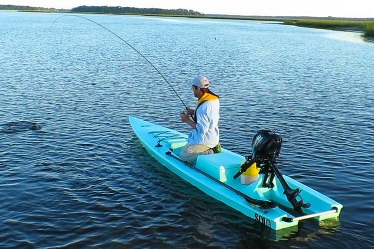 Solo skiff fishing kayak for Solo fishing canoe