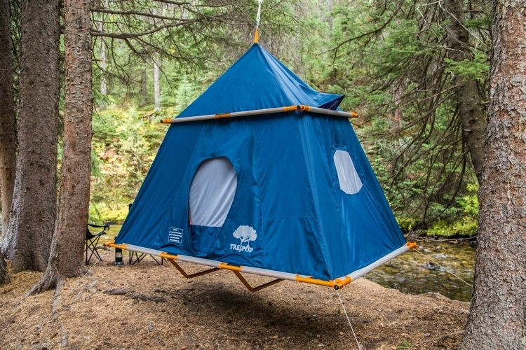 Treepod C&er Finally A Hanging Tent For Adults & Treepod Camper