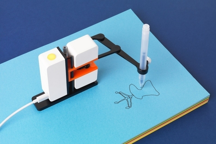 Line Drawing Robot : Line us drawing robot arm