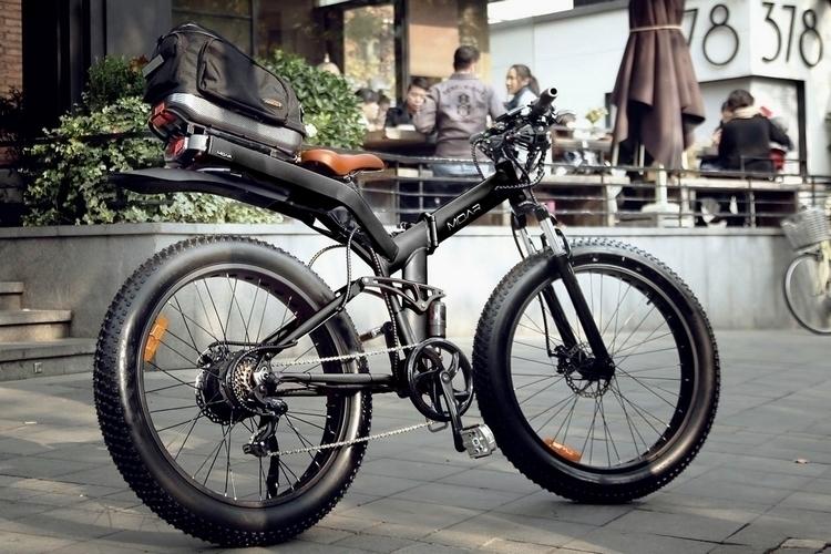 MOAR Folding E Bike
