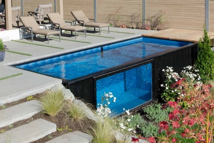 Modpool shipping container swimming pool - Container swimming pool ...