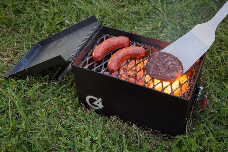 M Grills C Portable Grill - Compact grill containers